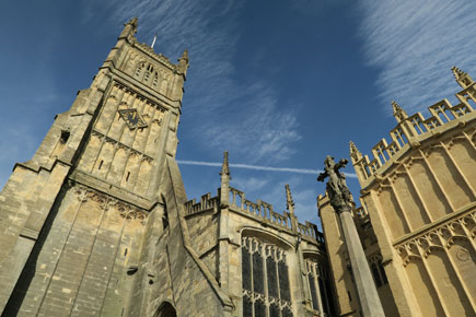 The Cotswolds town of Cirencester